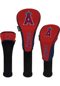 Los Angeles Angels 3 Pack Golf Headcover