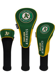 Oakland Athletics 3 Pack Golf Headcover
