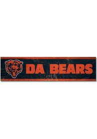 Chicago Bears 1.5x6 Wood Magnet