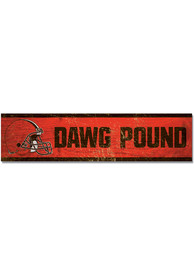 Cleveland Browns 1.5x6 Wood Magnet