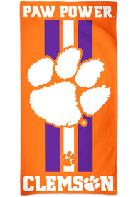 Clemson Tigers Team Color Beach Towel