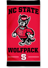 NC State Wolfpack Team Color Beach Towel