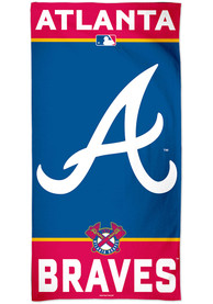 Atlanta Braves Team Color Beach Towel