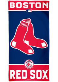 Boston Red Sox Team Color Beach Towel