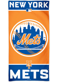 New York Mets Team Color Beach Towel