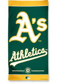 Oakland Athletics Team Color Beach Towel