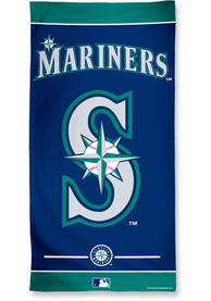 Seattle Mariners Team Color Beach Towel