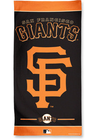 San Francisco Giants Team Color Beach Towel