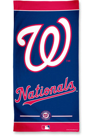 Washington Nationals Team Color Beach Towel