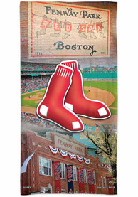 Boston Red Sox Spectra Beach Towel