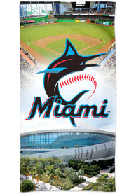 Miami Marlins Spectra Beach Towel