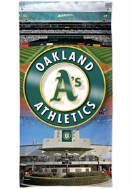 Oakland Athletics Spectra Beach Towel