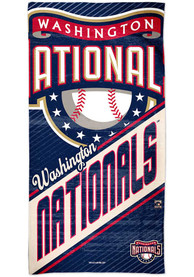 Washington Nationals Spectra Beach Towel