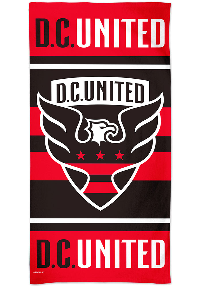 DC United Spectra Beach Towel - Image 1