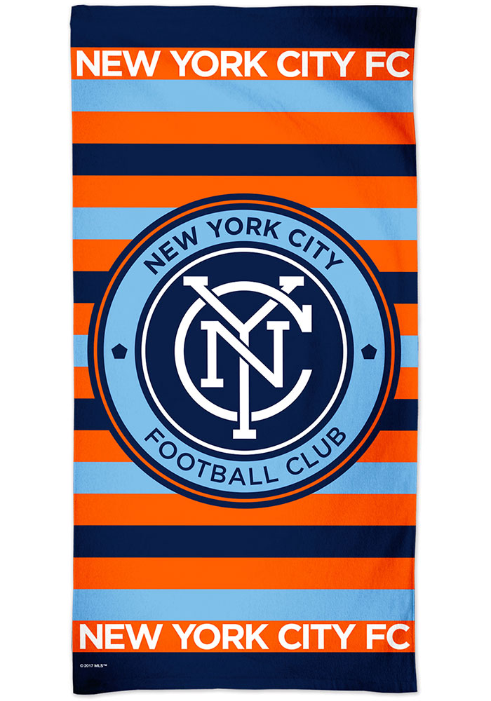 New York City FC Spectra Beach Towel - Image 1