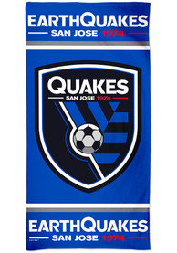 San Jose Earthquakes Spectra Beach Towel