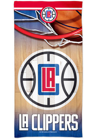 Los Angeles Clippers Spectra Beach Towel