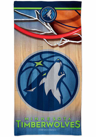 Minnesota Timberwolves Spectra Beach Towel