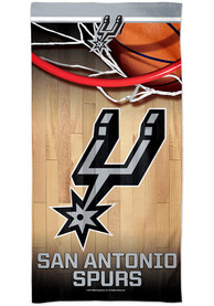 San Antonio Spurs Spectra Beach Towel