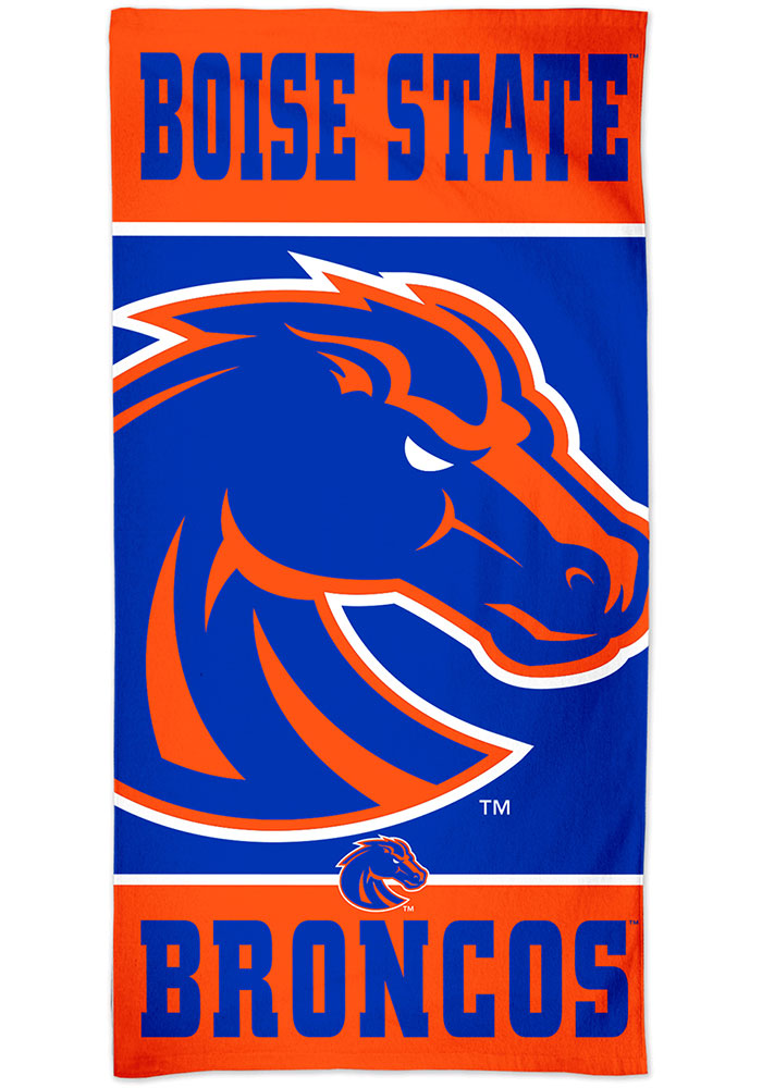 Boise State Broncos Spectra Beach Towel - Image 1