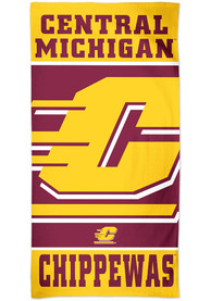 Central Michigan Chippewas Spectra Beach Towel