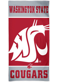 Washington State Cougars Spectra Beach Towel