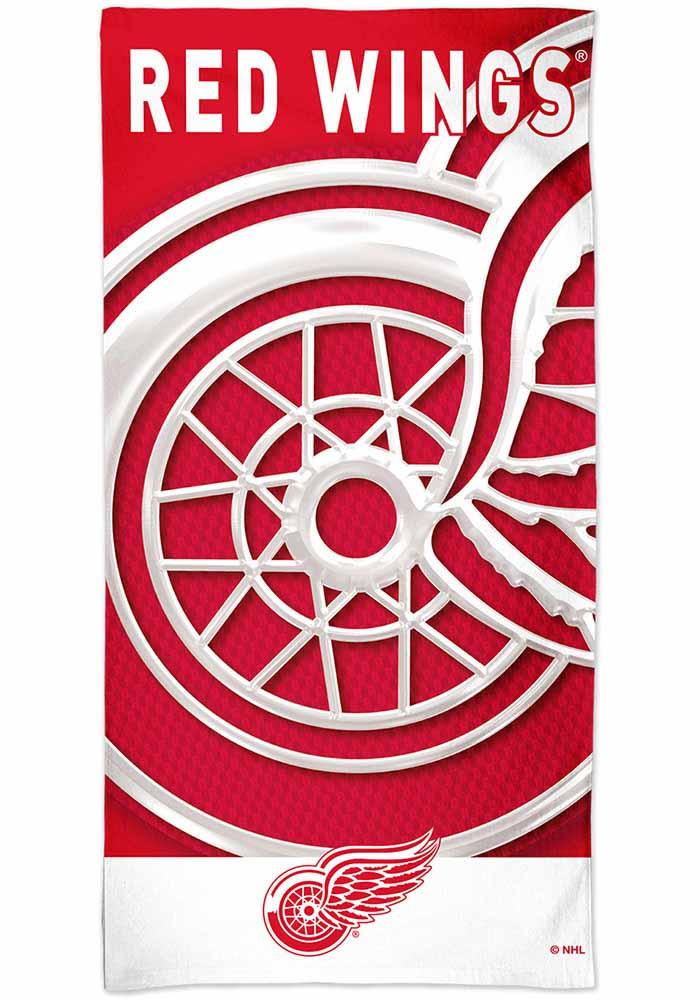 Detroit Red Wings Spectra Beach Towel - Image 1