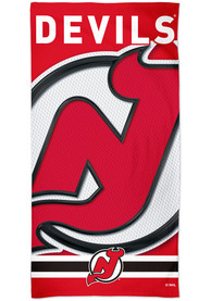 New Jersey Devils Spectra Beach Towel