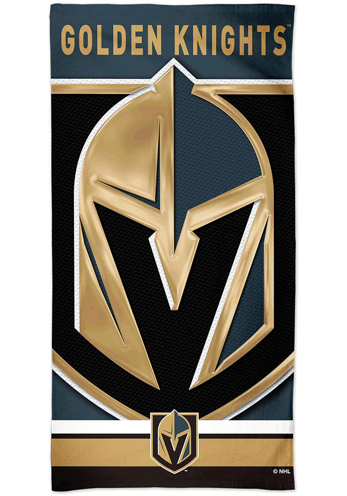 Vegas Golden Knights Spectra Beach Towel
