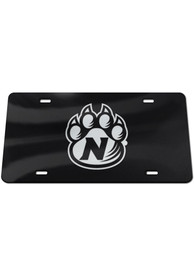 Northwest Missouri State Bearcats Silver Logo Black Background Car Accessory License Plate