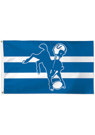 Indianapolis Colts 3x5 Retro Blue Silk Screen Grommet Flag