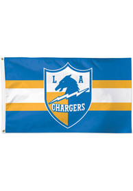 Los Angeles Chargers 3x5 Retro Blue Silk Screen Grommet Flag