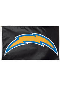 Los Angeles Chargers 3x5 Blue Blue Silk Screen Grommet Flag