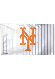 New York Mets 3x5 Blue Silk Screen Grommet Flag