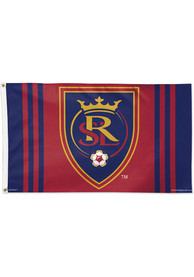 Real Salt Lake 3x5 Red Silk Screen Grommet Flag