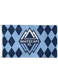 Vancouver Whitecaps FC 3x5 Navy Blue Silk Screen Grommet Flag