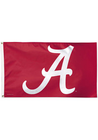 Alabama Crimson Tide 3x5 Crimson Silk Screen Grommet Flag