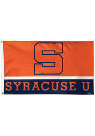 Syracuse Orange 3x5 Orange Silk Screen Grommet Flag