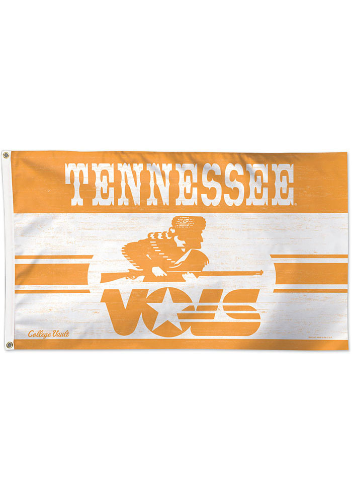 Tennessee Volunteers 3x5 Orange Silk Screen Grommet Flag