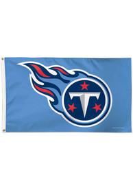 Tennessee Titans 3x5 Blue Silk Screen Grommet Flag