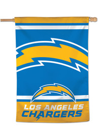 Los Angeles Chargers Mega Logo 28x40 Banner