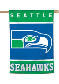 Seattle Seahawks Retro 28x40 Banner