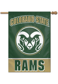 Colorado State Rams Typeset 28x40 Banner
