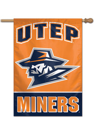 UTEP Miners 28x40 Banner