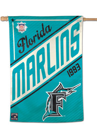 Miami Marlins 28x40 Banner