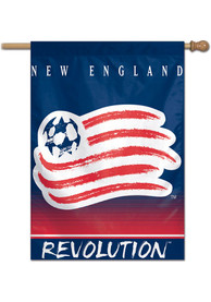 New England Revolution 28x40 Banner