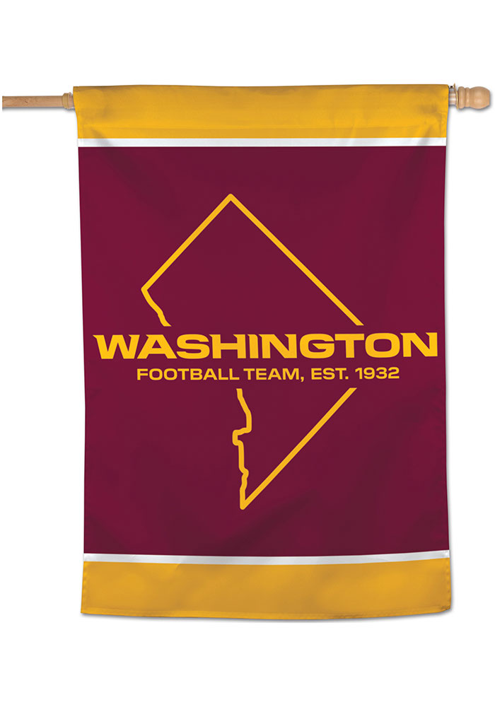 Washington Football Team 28x40 Banner