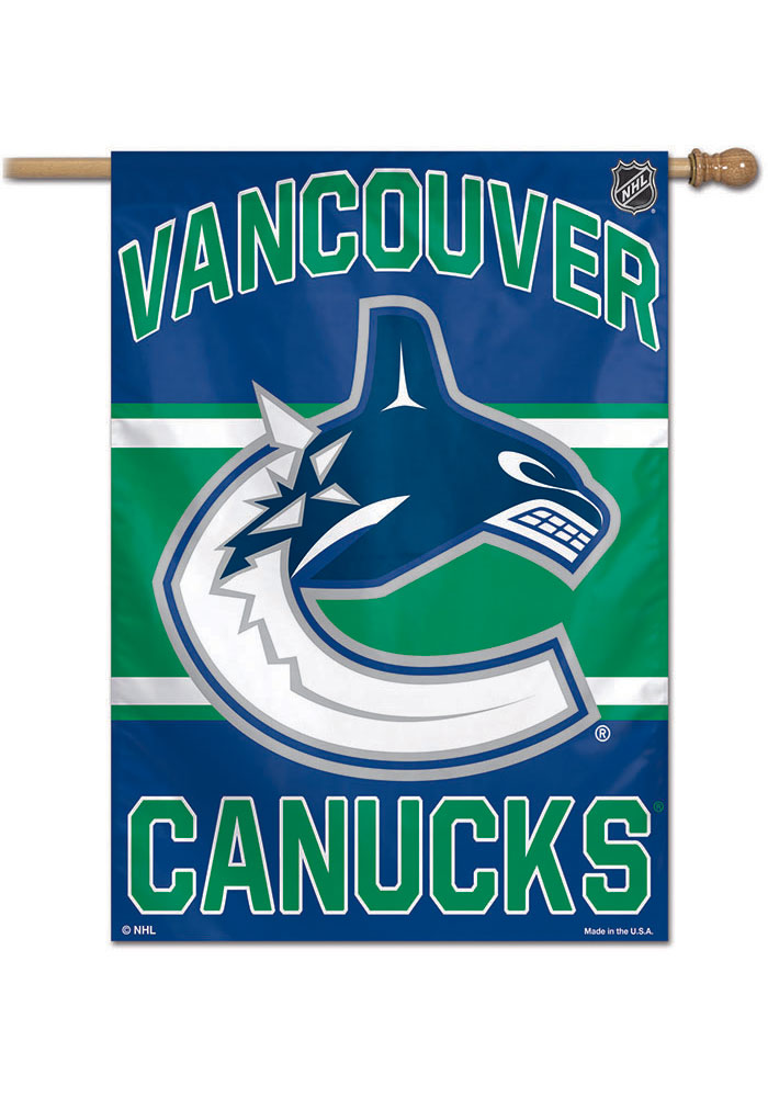 Vancouver Canucks 28x40 Banner - Image 1