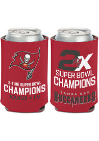 Tampa Bay Buccaneers Super Bowl LV Champions Logo Coolie