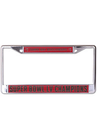 Tampa Bay Buccaneers Super Bowl LV Champions Primary Logo License Frame